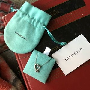 Tiffany and Co Loving Heart Pendant